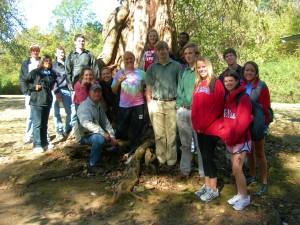 EDHE 105 students on hike 004