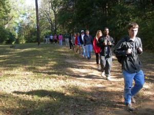 Rowan Oak and students 025
