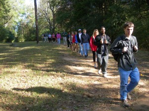 Rowan Oak and students 025