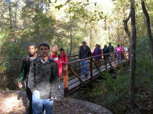Rowan Oak and students 026