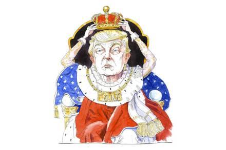 Donald Trump as King